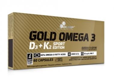 Gold Omega 3 D3 + K2 Sport Edition 60kaps